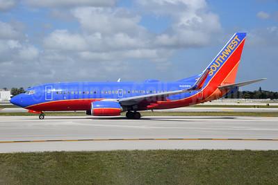 Southwest Airlines Boeing 737-7H4 WL N488WN (msn 33853) FLL (Bruce Drum). Image: 104753.
