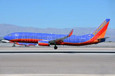 Southwest Airlines Boeing 737-8H4 WL N8303R (msn 36681) LAS (Ton Jochems). Image: 921308.
