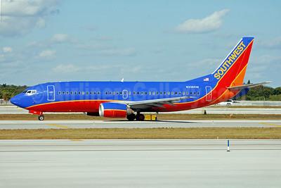 Southwest Airlines Boeing 737-3H4 N336SW (msn 23940) FLL (Bruce Drum). Image: 102550.