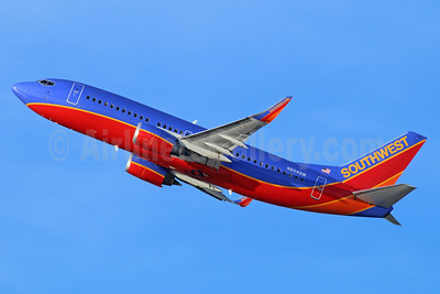 Southwest Airlines Boeing 737-3H4 WL N604SW (msn 27955) LAX (Michael B. Ing). Image: 938826.