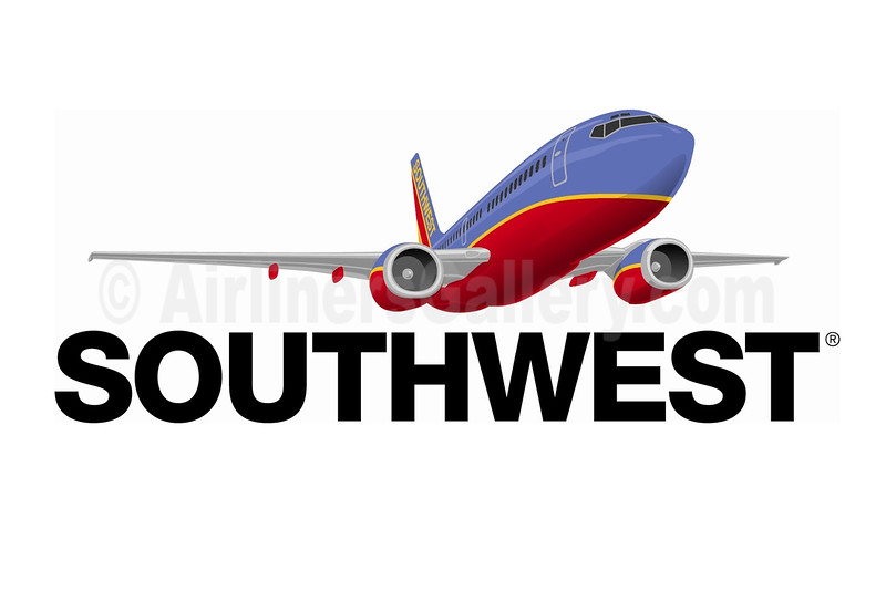1. Southwest Airlines logo (2001)