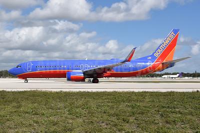 Southwest Airlines Boeing 737-8H4 SSWL N8626B (msn 36894) FLL (Bruce Drum). Image: 105605.