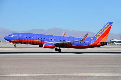 Southwest Airlines Boeing 737-8H4 WL N8311Q (msn 38808) LAS (Ton Jochems). Image: 921309.