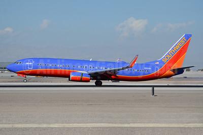Southwest Airlines Boeing 737-8H4 WL N8618N (msn 36915) LAS (TMK Photography). Image: 931856.