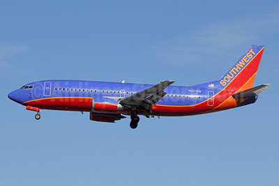Southwest Airlines Boeing 737-3H4 N317WN (msn 24068) LAX (Michael B. Ing). Image: 921541.