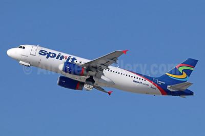Spirit Airlines Airbus A320-232 N616NK (msn 5370) LAX (Michael B. Ing). Image: 943093.