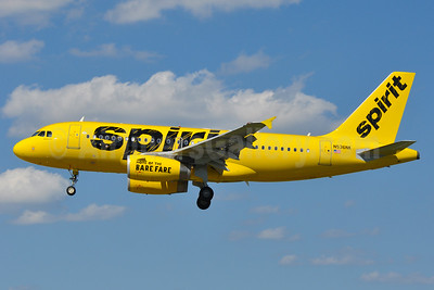 Spirit Airlines Airbus A319-133 N536NK (msn 4422) BWI (Tony Storck). Image: 939139.