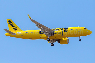 A new Airbus A320neo for Spirit Airlines
