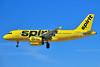 Spirit Airlines Airbus A319-132 N502NK (msn 2433) LAS (Ken Petersen). Image: 924866.