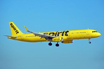 Spirit Airlines Airbus A321-231 WL N664NK  (msn 7021) FLL (Bruce Drum). Image: 104449.