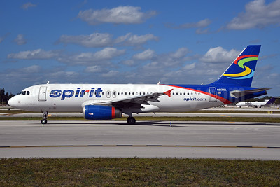 Spirit Airlines Airbus A320-232 N617NK (msn 5387) FLL (Bruce Drum). Image: 5387.