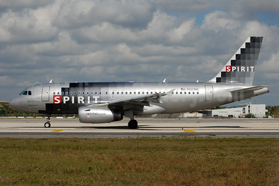 Spirit Airlines Airbus A319-132 N523NK (msn 2898) FLL (Bruce Drum). Image: 104452.