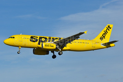 Spirit Airlines Airbus A320-232 N602NK (msn 4264) BWI (Tony Storck). Image: 940161.
