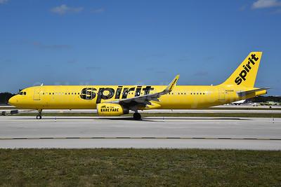 Spirit Airlines Airbus A321-231 WL N658NK  (msn 6736) FLL (Bruce Drum). Image: 104448.