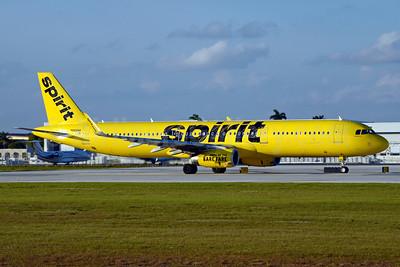 Spirit Airlines Airbus A321-231 WL N668NK  (msn 7135) FLL (Jay Selman). Image: 403595.