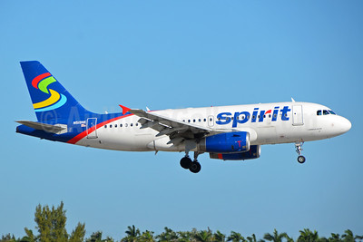 Spirit Airlines Airbus A319-132 N519NK (msn 2723) FLL (Bruce Drum). Image: 104447.