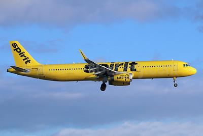 Spirit Airlines Airbus A321-231 WL N669NK  (msn 7296) LAX (Michael B. Ing). Image: 943096.