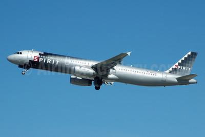Spirit Airlines Airbus A321-231 N588NK (msn 2590) FLL (Bruce Drum). Image: 104742.