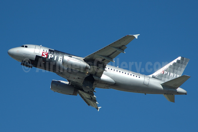 Spirit Airlines Airbus A319-132 N502NK (msn 2433) FLL (Bruce Drum). Image: 104446.