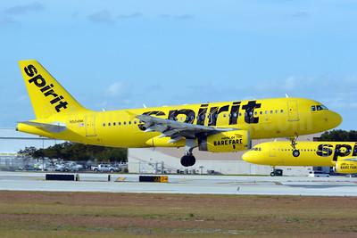 Spirit Airlines Airbus A319-132 N504NK (msn 2473) FLL (Jay Selman). Image: 403762.