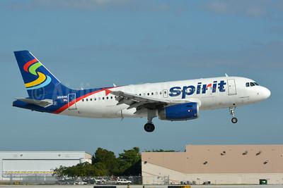 Spirit Airlines Airbus A319-132 N515NK (msn 2698) FLL (Jay Selman). Image: 403806.