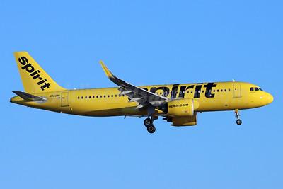 Spirit Airlines Airbus A320-271N WL N923NK (msn 9342) LAX (Michael B. Ing). Image: 954946.