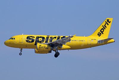 Spirit Airlines Airbus A319-132 N503NK (msn 2470) LAS (Michael B. Ing). Image: 927498.