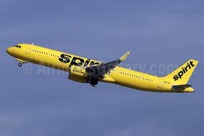 Spirit Airlines Airbus A321-231 WL N687NK  (msn 8160) LAX (Michael B. Ing). Image: 945666.