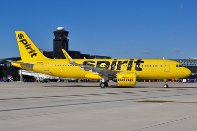 Spirit Airlines Airbus A320-271N WL N901NK (msn 6833) BWI (Tony Storck). Image: 935674.