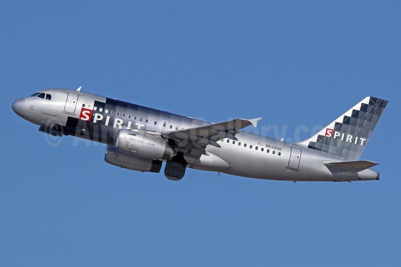 Spirit Airlines Airbus A319-132 N532NK (msn 3165) LAX (Michael B. Ing). Image: 936639.