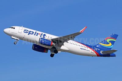 Spirit Airlines Airbus A320-232 WL N627NK (msn 6082) LAX (Michael B. Ing). Image: 936853.