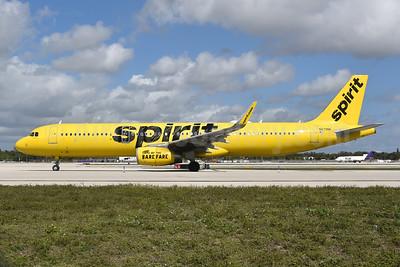 Spirit Airlines Airbus A321-231 WL N679NK  (msn 7825) FLL (Bruce Drum). Image: 104930.