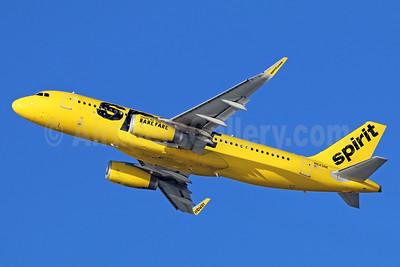 Spirit Airlines Airbus A320-232 WL N643NK (msn 6616) LAX (Michael B. Ing). Image: 939800.