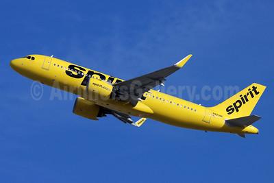Spirit Airlines Airbus A320-271N WL N923NK (msn 9342) LAX (Michael B. Ing). Image: 954947.