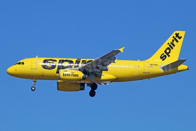 Spirit Airlines Airbus A319-132 N504NK (msn 2473) LAX (Michael B. Ing). Image: 930237.