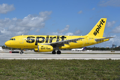 Spirit Airlines Airbus A319-132 N502NK (msn 2433) FLL (Bruce Drum). Image: 104932.