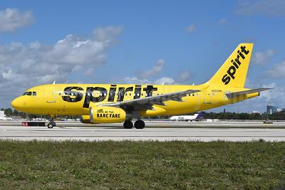 Spirit Airlines Airbus A319-132 N502NK (msn 2433) FLL (Brian McDonough). Image: 925659.