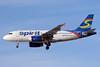 Spirit Airlines Airbus A319-132 N504NK (msn 2473) LAS (Bruce Drum). Image: 104114.