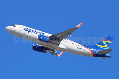 Spirit Airlines Airbus A320-232 WL N638NK (msn 6463) LAX (Michael B. Ing). Image: 943089.