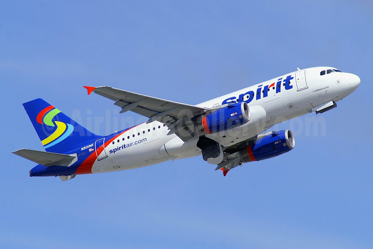 Spirit Airlines Airbus A319-132 N501NK (msn 2424) FLL (Wade DeNero). Image: 936354.