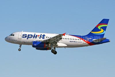 Spirit Airlines Airbus A319-132 N502NK (msn 2433) LAS (Keith Burton). Image: 943090.