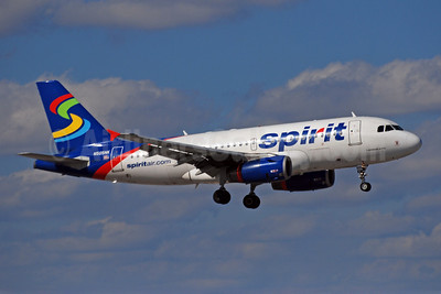 Spirit Airlines Airbus A319-132 N505NK (msn 2485) FLL (Bruce Drum). Image: 102016.