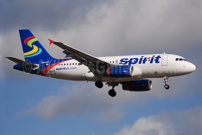 Spirit Airlines Airbus A319-132 N503NK (msn 2470) FLL (Bruce Drum). Image: 100004.