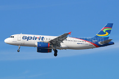 Spirit Airlines Airbus A320-232 N606NK (msn 4592) LAX (Michael B. Ing). Image: 943092.