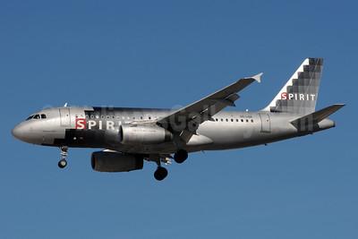 Spirit Airlines Airbus A319-132 N531NK (msn 3027) LAS (Bruce Drum). Image: 104112.