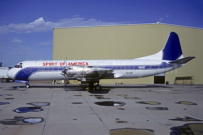 Spirit of America Airlines Lockheed 188A (F) Electra N669F (msn 1116) (Cam Air colors) (Christian Volpati Collection). Image: 948452.