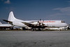 Spirit of America Airlines Lockheed 188C (F) Electra N402GN (msn 1085) MIA (Bruce Drum). Image: 103170.
