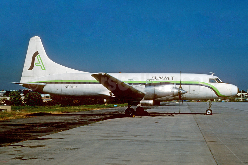 Summit Airlines (USA) Convair 580 N531SA (msn 121) ATL (Norbert G. Raith). Image: 928879.