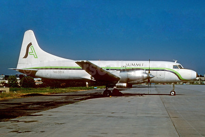 Summit Airlines (USA) Convair 580 (F) N531SA (msn 121) ATL (Norbert G. Raith). Image: 928879.