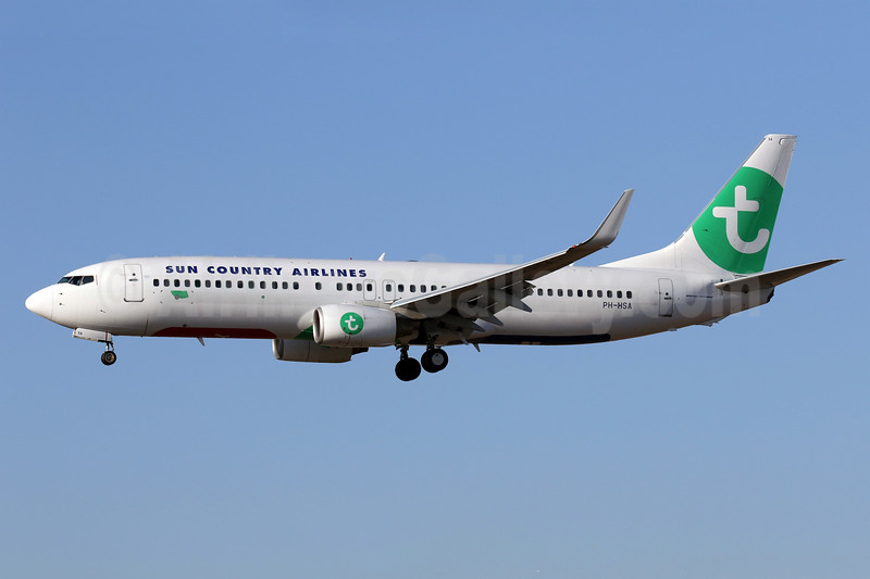 Leased from Transavia on October 7, 2017